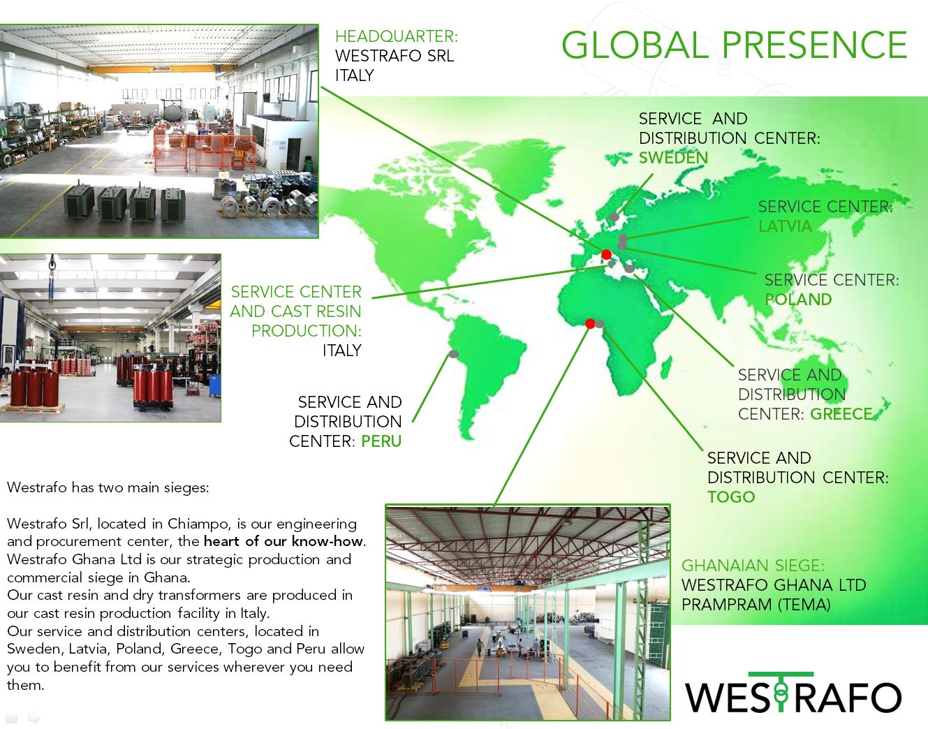 westrafo global presence service centers